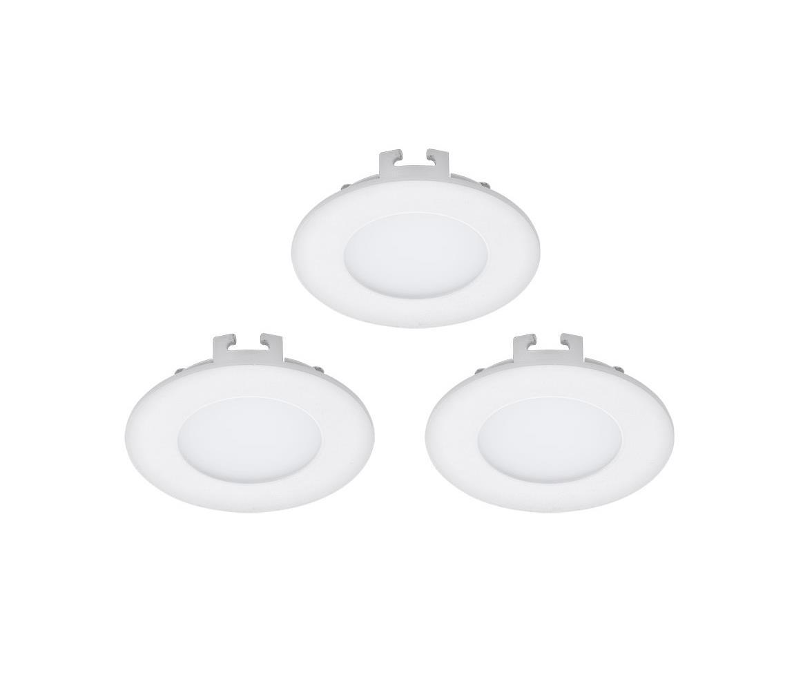 Eglo 94732 - SADA 3x LED Podhledové svítidlo FUEVA 1 3xLED/2,7W/230V EG94732
