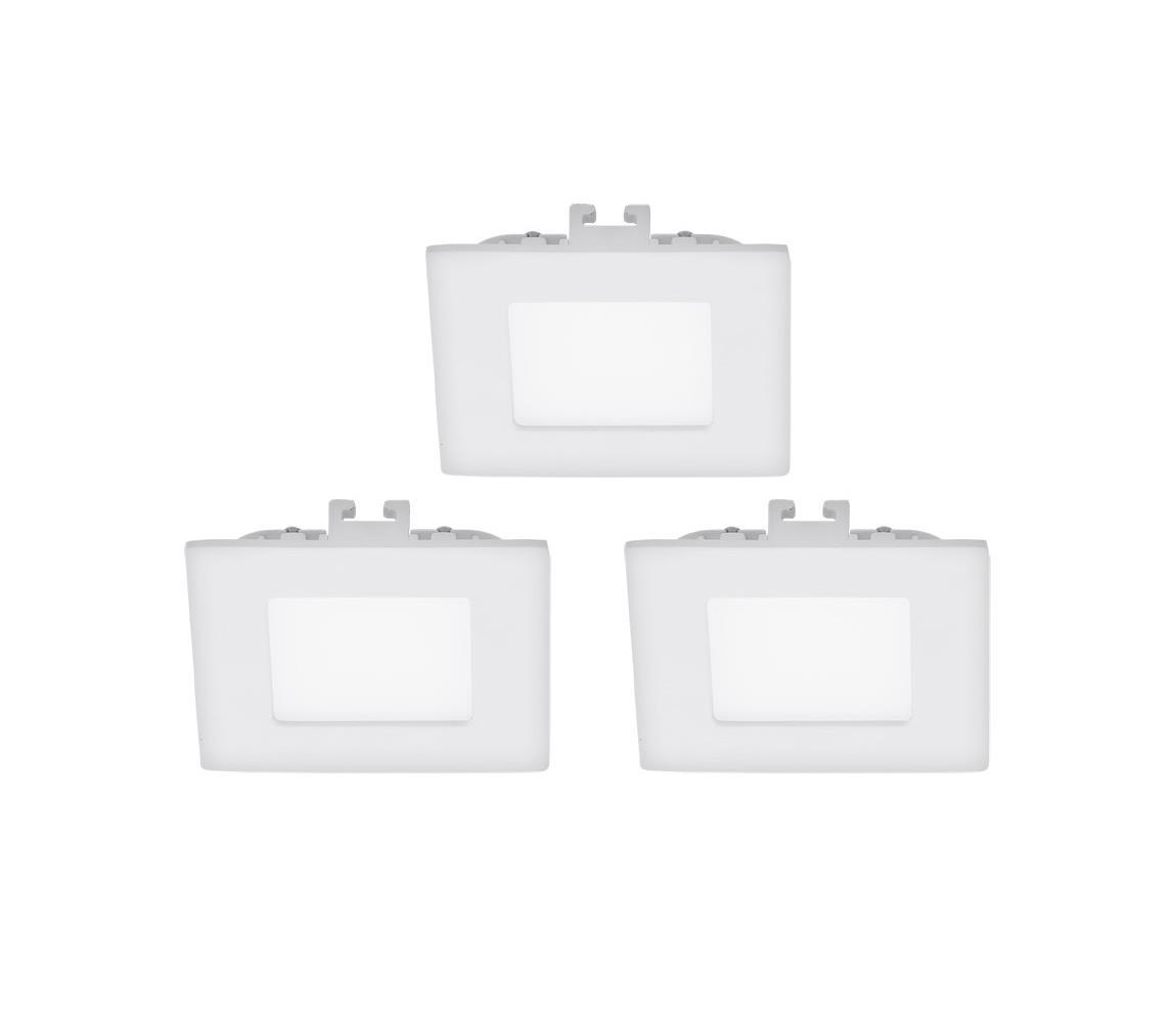 Eglo 94733 - SADA 3x LED Podhledové svítidlo FUEVA 1 3xLED/2,7W/230V EG94733