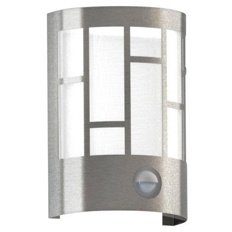Eglo 94798 - Venkovní svítidlo se senzorem CERNO 1xE27/40W/230V