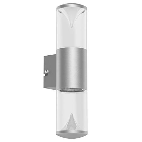 Eglo 94812 - LED venkovní svítidlo PENALVA 2xLED/3,7W/230V