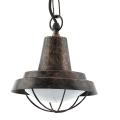 Eglo 94837 - LED Venkovní lustr COLINDRES 1xE27/8,5W/230V IP44