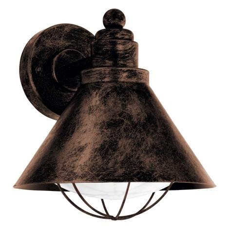 Eglo 94858 - Venkovní svítidlo BARROSELA 1xE27/40W/230V