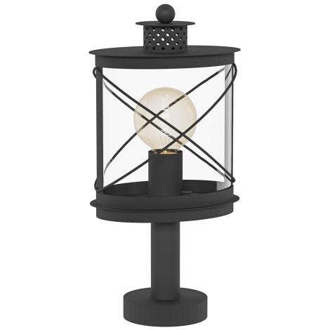 Eglo 94864 - Venkovní lampa HILBURN 1xE27/60W/230V