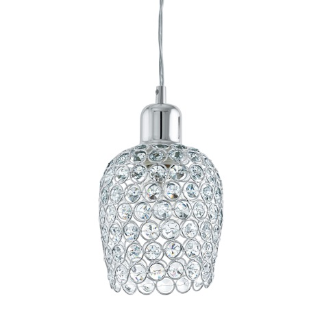 Eglo 94896 - Křišťálový lustr BONARES 1 1xE27/60W/230V