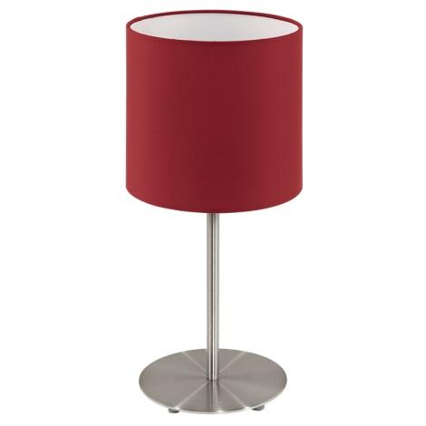 Eglo 94906 - Stolní lampa PASTERI 1xE27/60W/230V