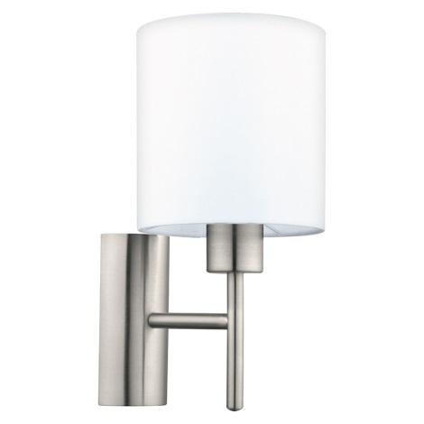 Eglo 94924 - Nástěnné svítidlo PASTERI 1xE27/60W/230V
