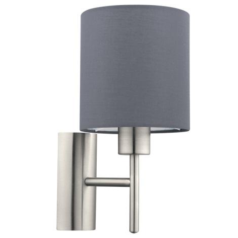 Eglo 94926 - Nástěnné svítidlo PASTERI 1xE27/60W/230V
