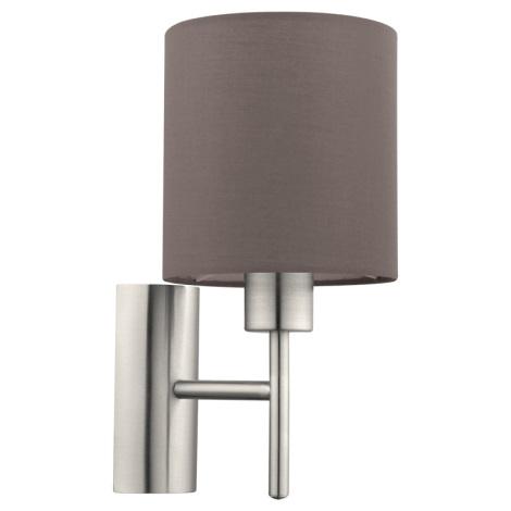 Eglo 94927 - Nástěnné svítidlo PASTERI 1xE27/60W/230V