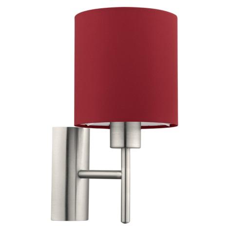 Eglo 94928 - Nástěnné svítidlo PASTERI 1xE27/60W/230V
