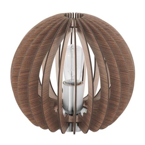 Eglo 94956 - Stolní lampa COSSANO 1xE27/60W/230V
