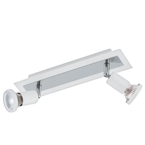 Eglo 94959 - LED Bodové svítidlo SARRIA 2xGU10-LED/5W/230V