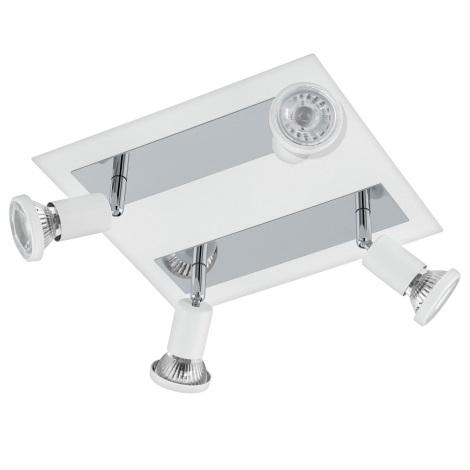 Eglo 94962 - LED Bodové svítidlo SARRIA 4xGU10-LED/5W/230V