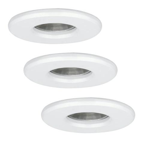 Eglo 94977 - SADA 3x LED koupelnové svítidlo IGOA 3xLED/3,3W/230V