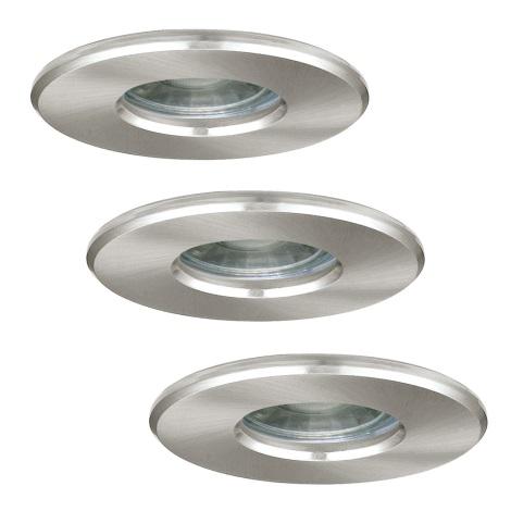 Eglo 94979 - SADA 3x LED koupelnové svítidlo IGOA 3xLED/3,3W/230V