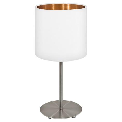 Eglo 95048 - Stolní lampa PASTERI 1xE27/60W/230V