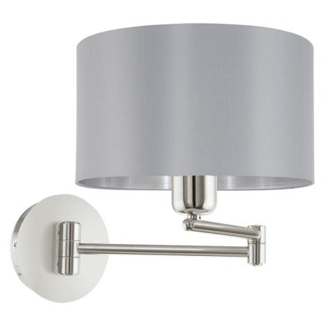 Eglo 95057 - Nástěnné svítidlo MASERLO 1xE27/60W/230V