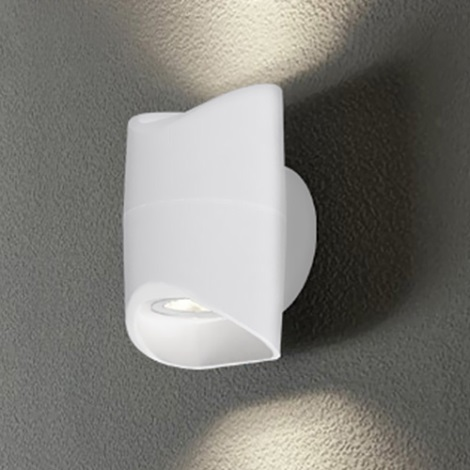 Eglo 95075 - Venkovní nástěnné svítidlo ABRANTES 2xLED/6W/230V