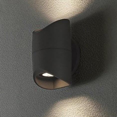 Eglo 95076 - Venkovní nástěnné svítidlo ABRANTES 2xLED/6W/230V