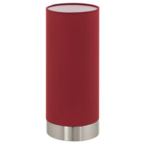 Eglo 95121 - Stmívatelná stolní lampa PASTERI 1xE27/60W/230V