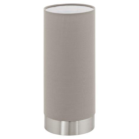 Eglo 95122 - Stmívatelná stolní lampa PASTERI 1xE27/60W/230V