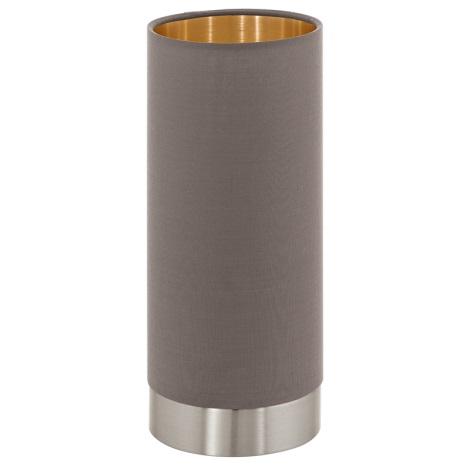 Eglo 95123 - Stmívatelná stolní lampa MASERLO 1xE27/60W/230V