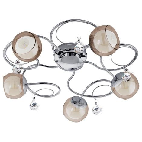Eglo 95157 - LED stropní svítidlo ASCOLESE 1 5xG9-LED/2,5W/230V