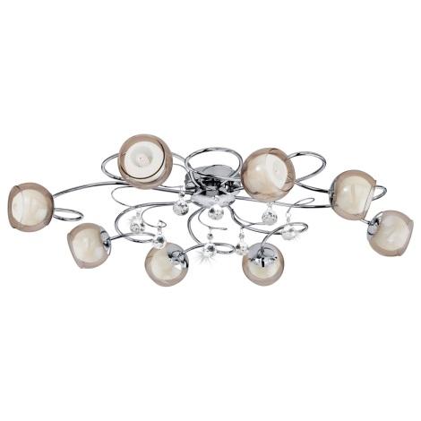 Eglo 95158 - LED stropní svítidlo ASCOLESE 1 8xG9-LED/2,5W/230V