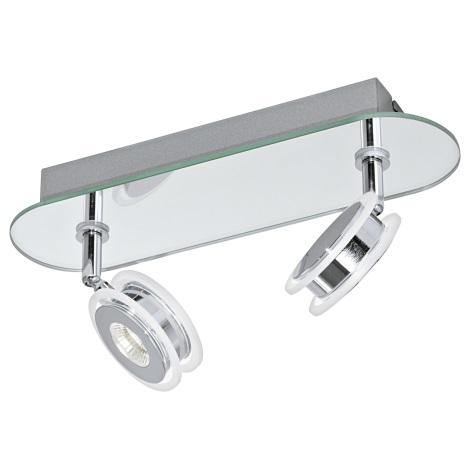 Eglo 95278 - LED bodové koupelnové svítidlo AGUEDA 2xLED/3,3W/230V