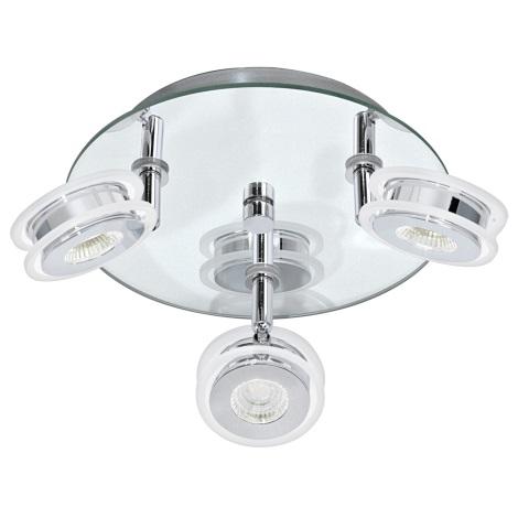 Eglo 95279 - LED bodové koupelnové svítidlo AGUEDA 3xLED/3,3W/230V
