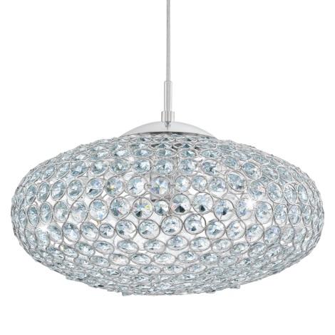 Eglo 95286 - Křišťálový lustr CLEMENTE 1xE27/60W/230V