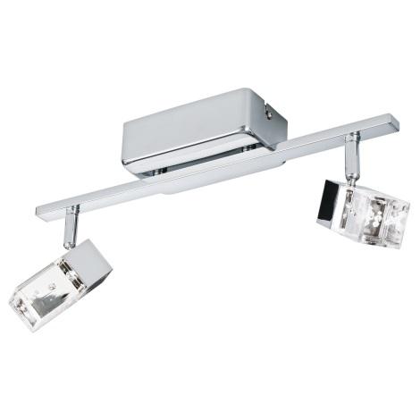 Eglo 95293 - LED Bodové svítidlo CANTIL 2xLED/3,3W/230V
