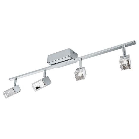 Eglo 95295 - LED Bodové svítidlo CANTIL 4xLED/3,3W/230V