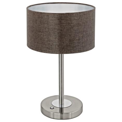 Eglo 95343 - LED stolní lampa ROMAO 2 LED/12W/230V