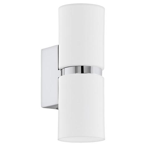 Eglo 95368 - LED nástěnné svítidlo PASSA 2xGU10-LED/4W/230V