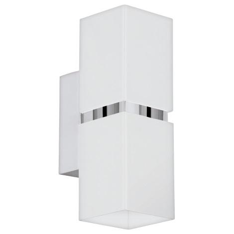 Eglo 95377 - LED nástěnné svítidlo PASSA 2xGU10-LED/4W/230V