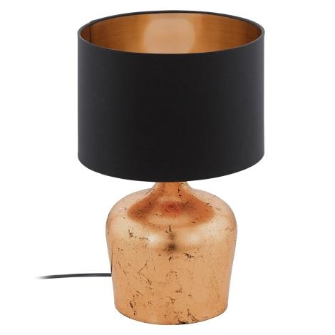 Eglo 95387 - Stolní lampa MANALBA 1xE27/60W/230V