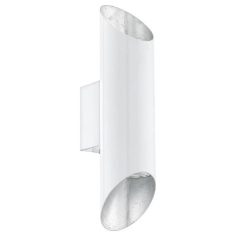 Eglo 95421 - LED nástěnné svítidlo VIEGAS 2xGU10-LED/4W/230V