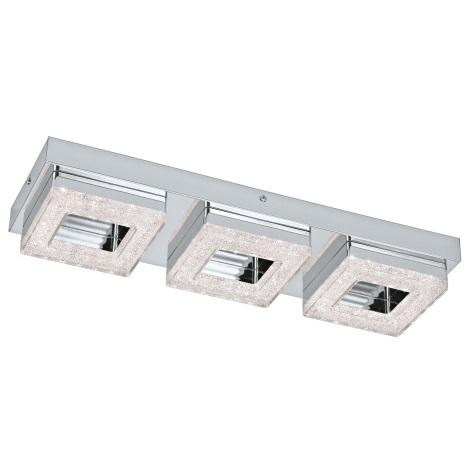 Eglo 95656 - LED Křišťálové stropní svítidlo FRADELO 3xLED/4W/230V
