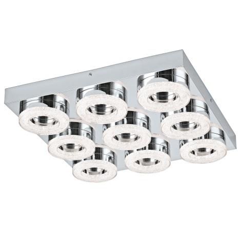 Eglo 95665 - LED Křišťálové stropní svítidlo FRADELO 9xLED/4W/230V
