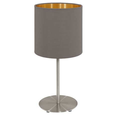 Eglo 95727- Stolní lampa PASTERI 1xE14/40W/230V