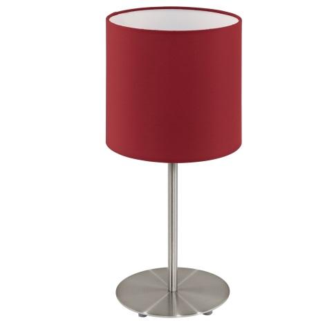 Eglo 95731- Stolní lampa PASTERI 1xE14/40W/230V