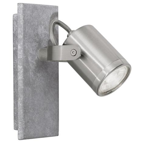 Eglo 95741 - LED Bodové svítidlo PRACETA 1xGU10-LED/3,3W/230V