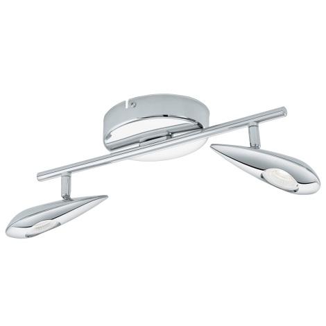 Eglo 95751 - LED Bodové svítidlo PEDREGAL 2xLED/3,3W/230V