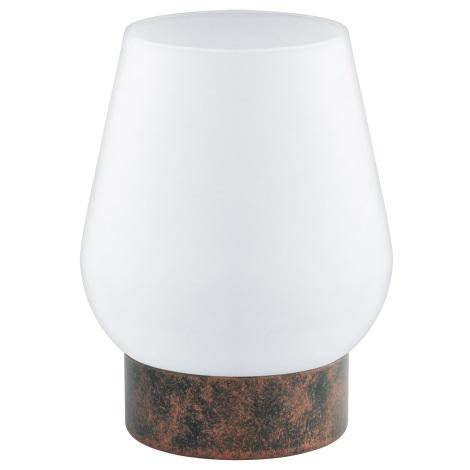 Eglo 95762 - Stolní lampa DAMASCO 1 1xE14/60W/230V