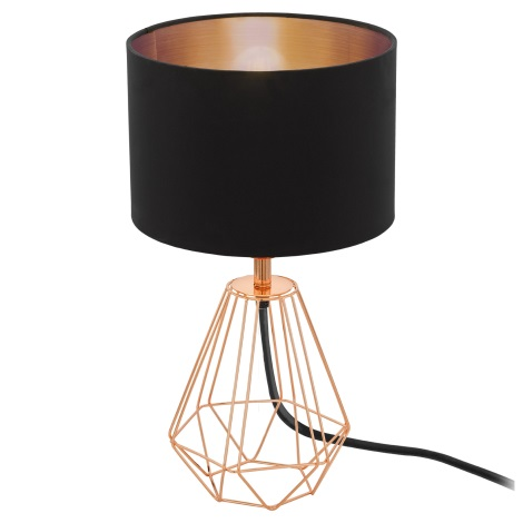 Eglo 95787- Stolní lampa CARLTON 2 1xE14/60W/230V
