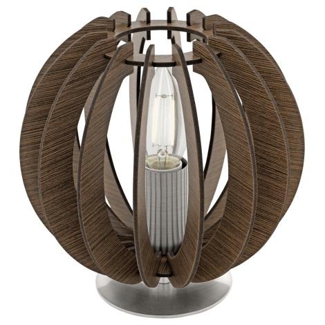 Eglo 95793 - Stolní lampa COSSANO 1xE14/40W/230V