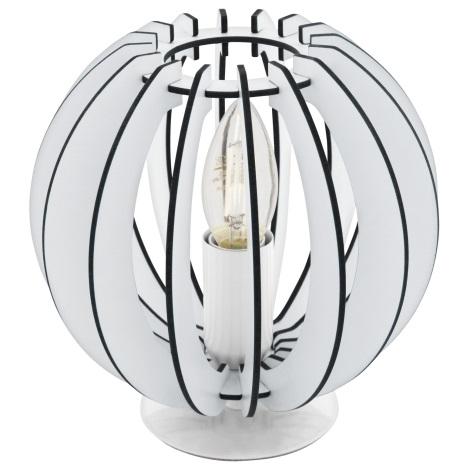 Eglo 95794 - Stolní lampa COSSANO 1xE14/40W/230V
