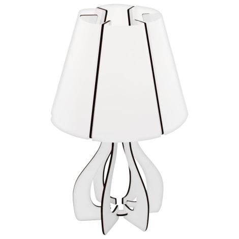 Eglo 95796 - Stolní lampa COSSANO 1xE14/40W/230V