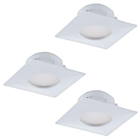 Eglo 95801- SADA 3x LED podhledové svítidlo PINEDA 3xLED/6W/230V