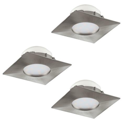 Eglo 95803 - SADA 3x LED podhledové svítidlo PINEDA 3xLED/6W/230V